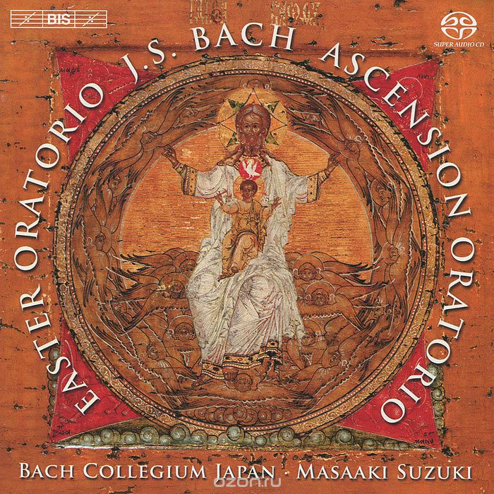 Bach Collegium Japan. Masaaki Suzuki. Bach. Easter & Ascension Oratorios (SACD)