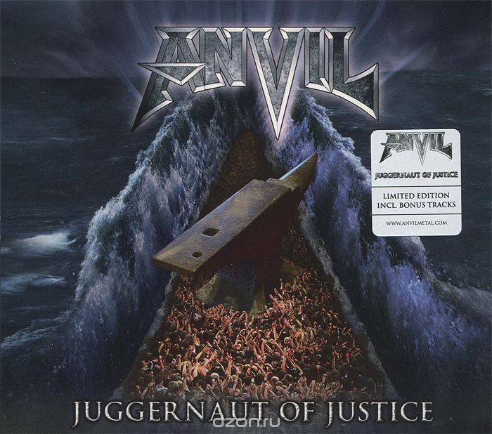 Anvil. Juggernaut Of Justice. Limited Edition