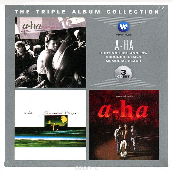 A-Ha. Triple Album Collection (3 CD)