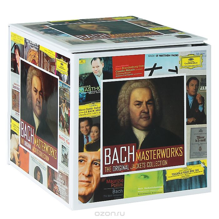 Bach Masterworks. The Original Jackets Collection (50 CD)