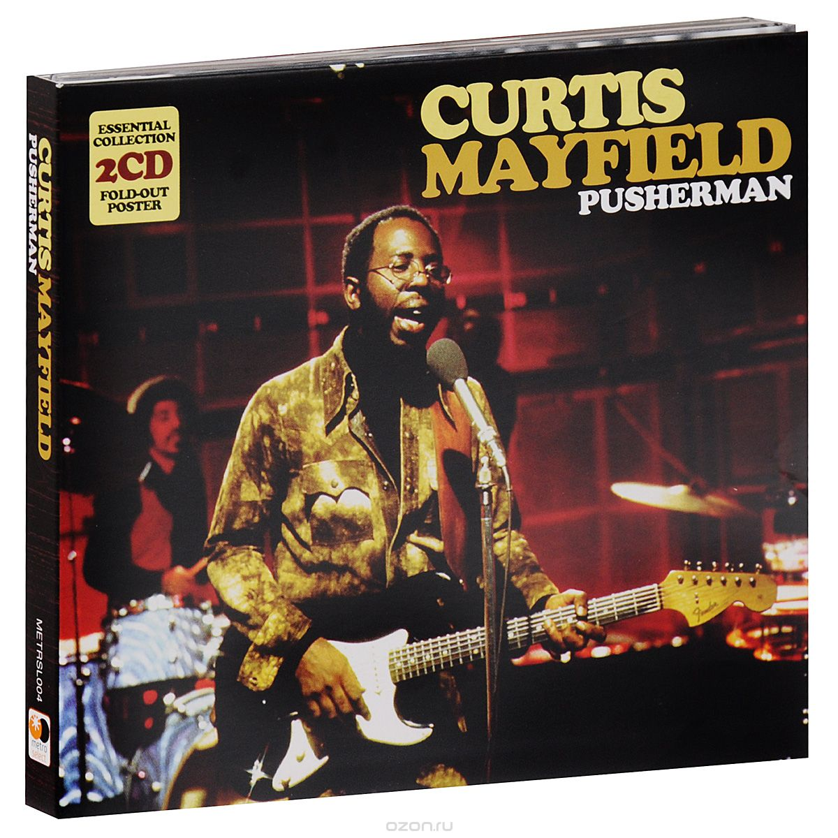 Curtis Mayfield. Pusherman (2 CD)