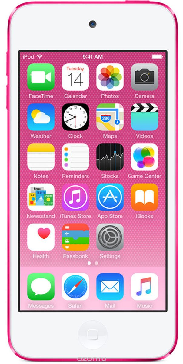 Apple iPod Touch 6G 32GB, Pink mp-3 плеер