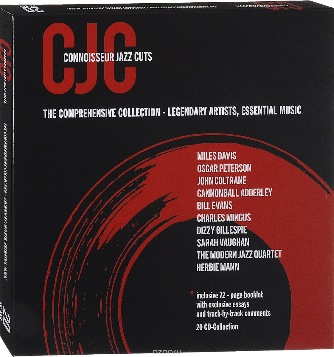 Connoisseur Jazz Cuts. The Comprehensive Collection - Legenadary Artists, Essential Music (20 CD)