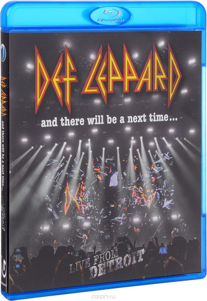 Def Leppard. And There Will Be A Next Time... Live From Detroit (Blu-ray)