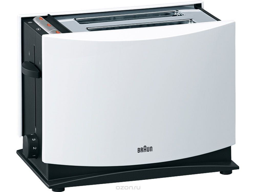 Braun MultiToast HT400, White тостер