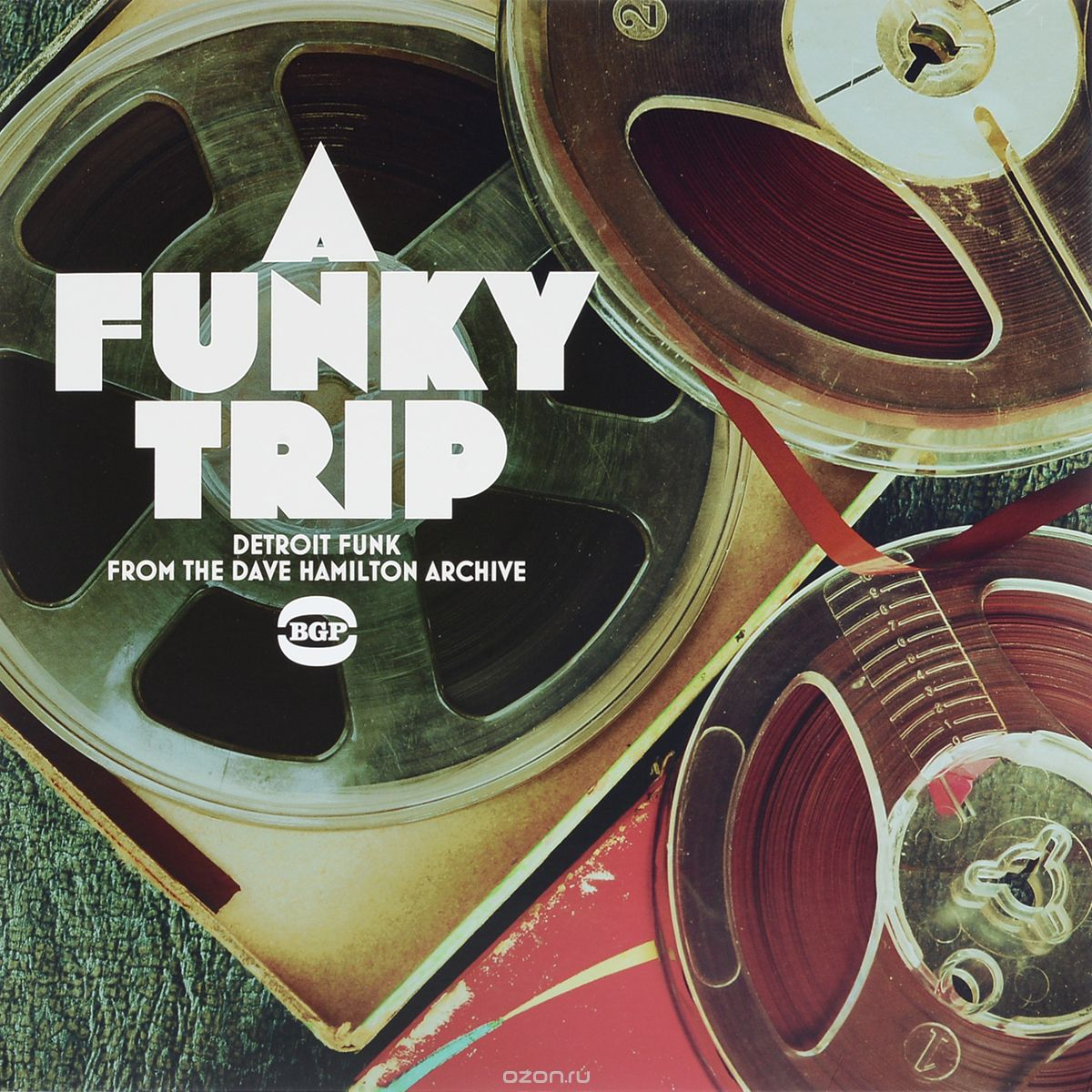 A Funky Trip - Detroit Funk From The Dave Hamilton Archive (LP)