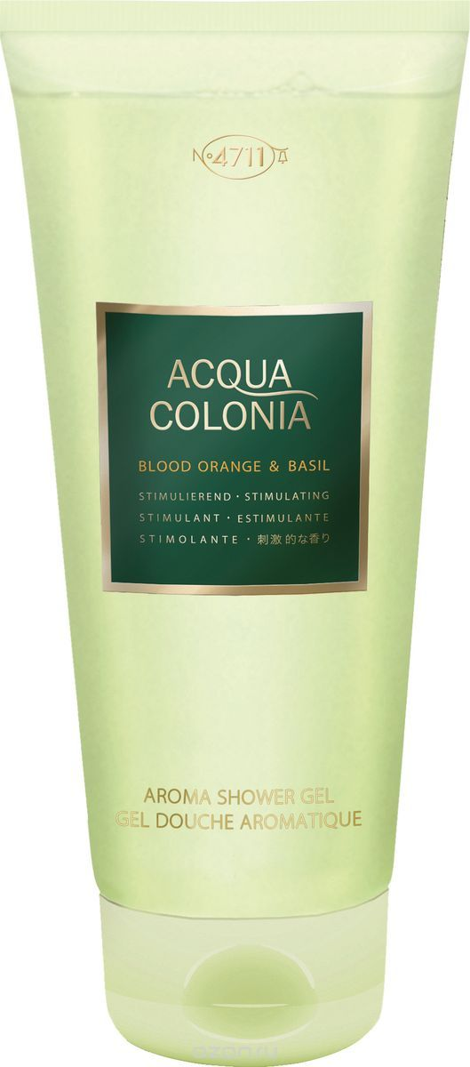 4711 Acqua Colonia Stimulating Blood Orange & Basil √ель дл¤ душа, 200 мл