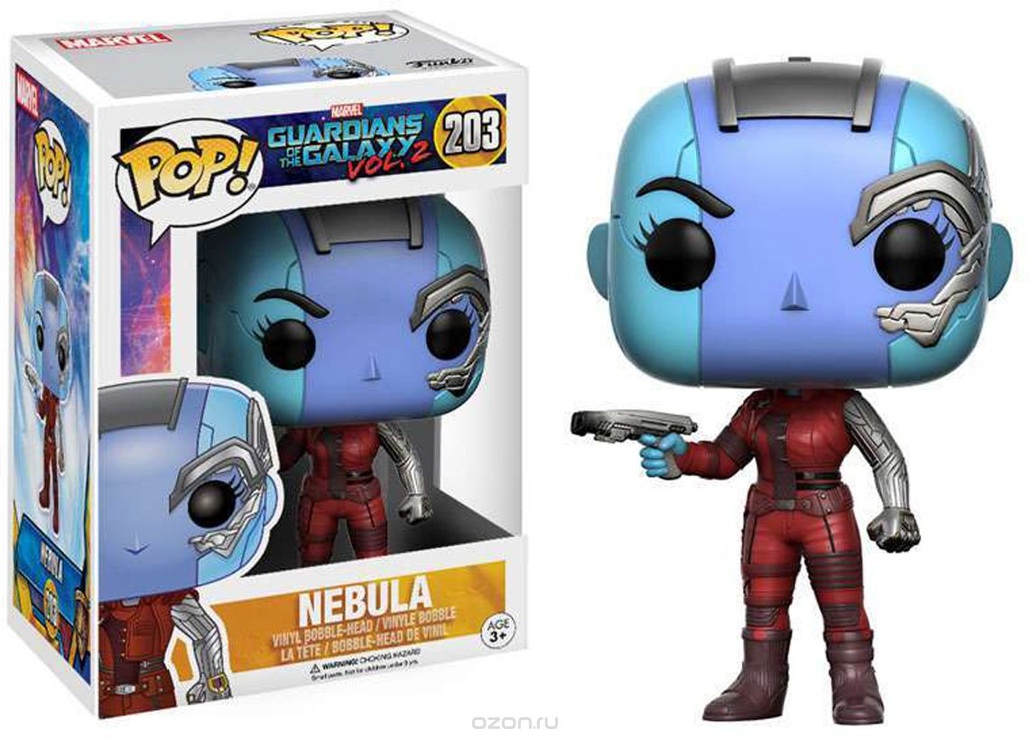 Funko POP! Bobble 'игурка Marvel Guardians O/T Galaxy 2 Nebula 13155