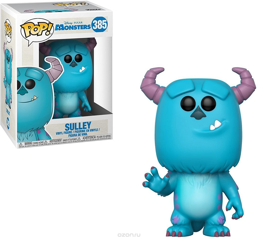 Funko POP! Vinyl 'игурка Disney Monsters, Inc.: Sulley