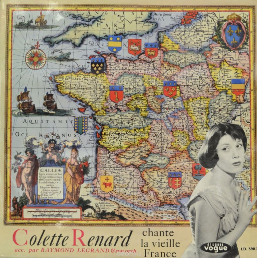 Colette Renard. Chante La Vieille France (LP)