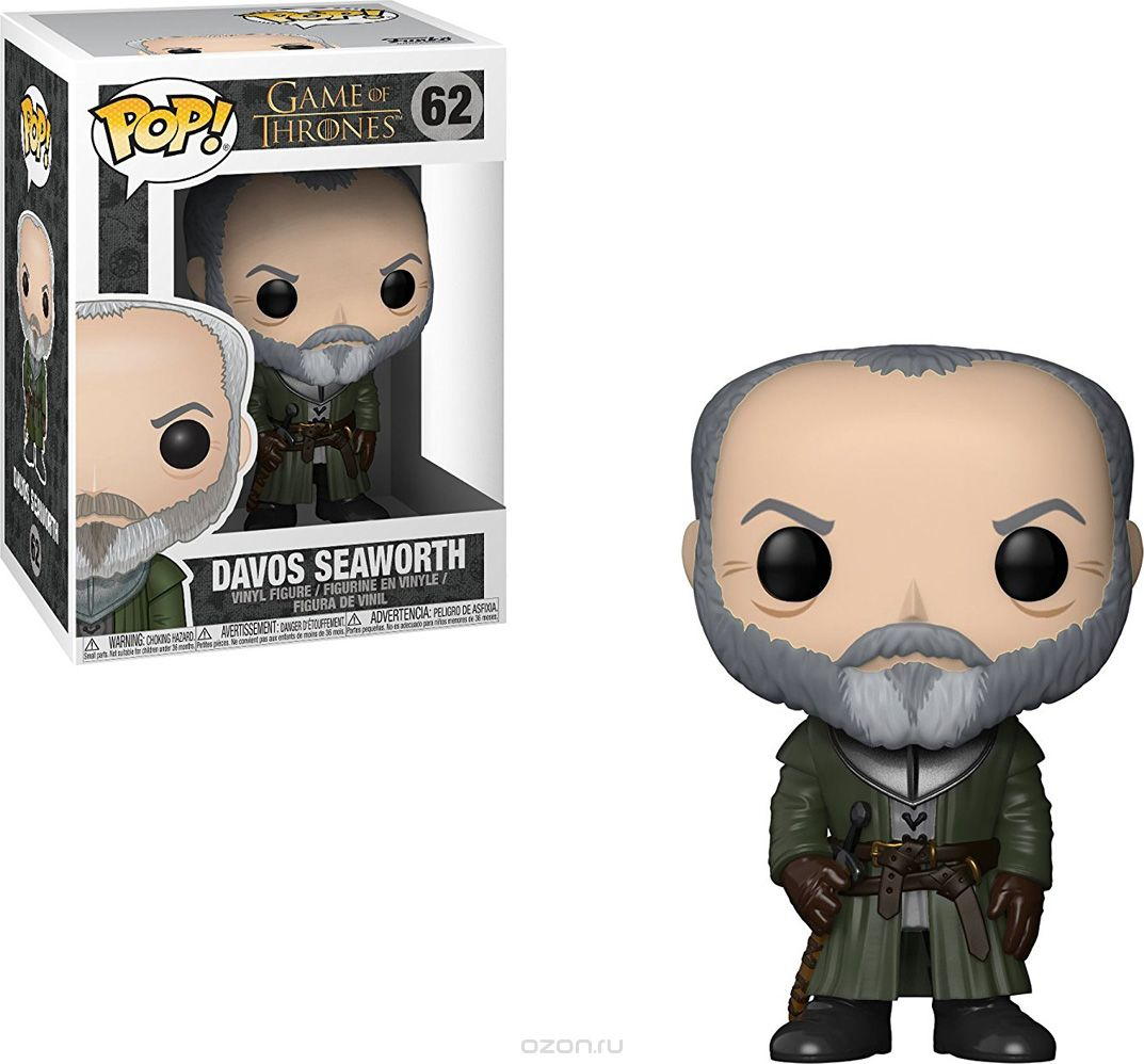 Funko POP! Vinyl Фигурка Game of Thrones S8: Davos Seaworth 29164