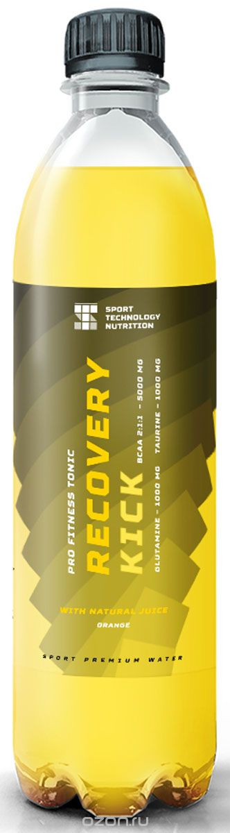 "BCAA Sport Technology Nutrition ""Recovery Kick"", апельсин, 0.5 л"