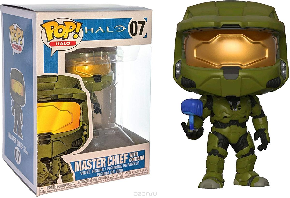 Funko POP! Vinyl Фигурка Games: Halo S1 Master Chief w/ Cortana 30099