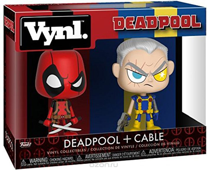 Funko POP! Vinyl 'игурка Marvel: Comics Deadpool & Cable 30489
